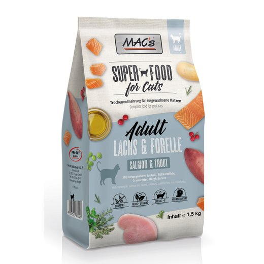 MACs Cat Adult Lachs & Forelle