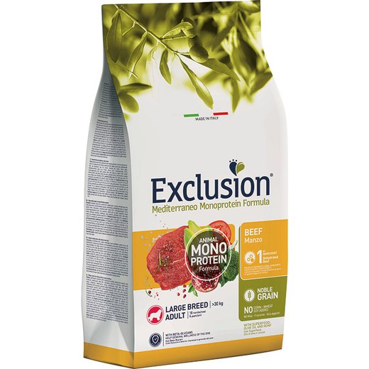 Exclusion Mediterraneo Noble Grain Adult Large Rind 12 kg